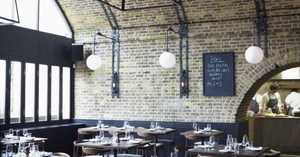 Beagle Restaurant: Hidden under a railway arch is this trendy Shoreditch restaurant,