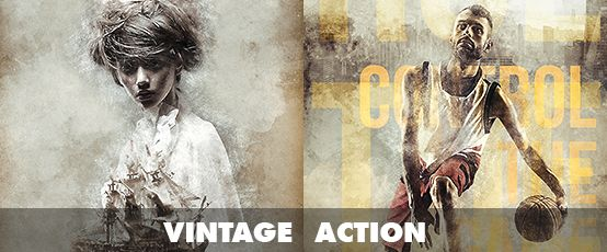 Ad Watercolor Photoshop Action By Sevenstyles On Creativemarket