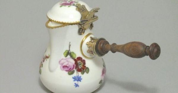 Ceramiques Porcelaines Louis Xv Antiquites Sur Anticstore Porcelaine De Sevres Chocolatiere Porcelaine