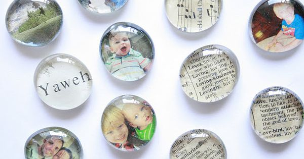 picture magnets diy | DIY :: Glass Magnets