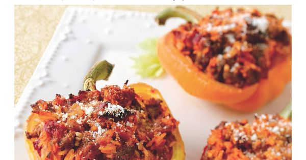 Bolognese Stuffed Peppers | Food: Italian | Pinterest | Costco ...