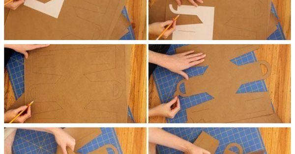 Como hacer una bolsa de papel paso a paso cajas de for Como hacer una alberca paso a paso