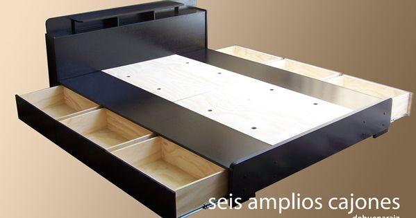 Base para cama minimalista 100 madera muebles bufets for Comedores minimalistas