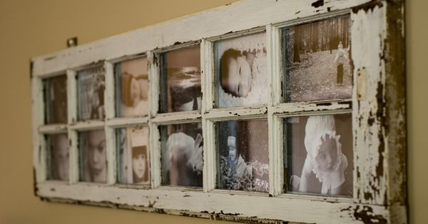 window picture frame: I have a couple of old window frames from