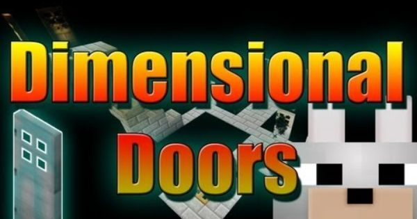 Minecraft Mods Dimensional Doors 1 4 7 Wip Review And Tutorial Amazing Mod Minecraft Mods Minecraft Tutorial