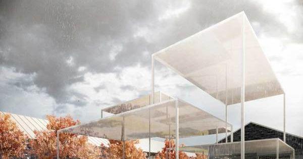 Wettbewerb Für Theatersanierung: Duggan Morris - Canopy On Behance