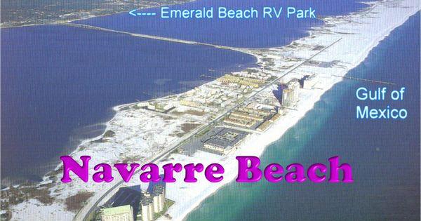 Campground Navarre Emerald Beach Rv Park