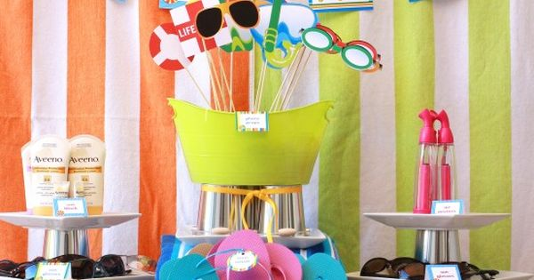 Cute summer party ideas!
