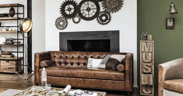Muebles y decoraci n de estilo industrial loft y f brica for Maison du monde 5 bd montmartre
