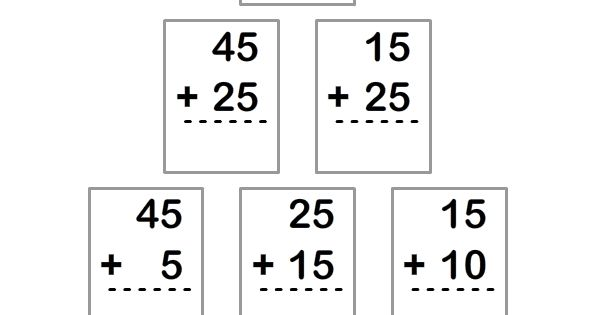 Kid, Math and Addition worksheets on Pinterest