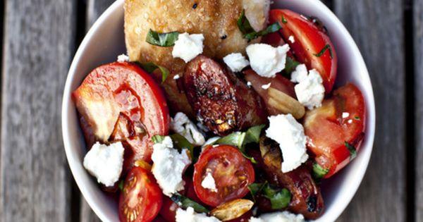 chorizo tomato salad- Jamie Oliver recipe