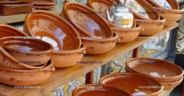 Cazuelas de barro ceramica recipientes alfareria 115432 - Cazuelas de cobre ...
