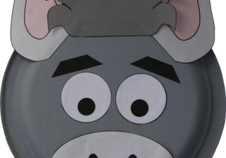 Paper Plate Donkey Craft http wwwdltkkidsanimals