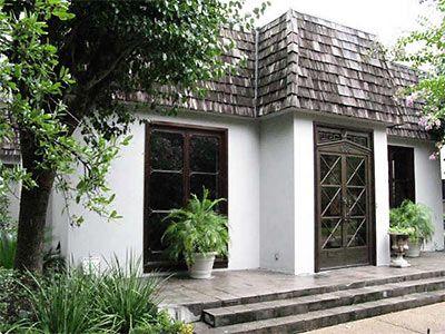 Charming Mansard Roof With Dark Trim Mansard Roof House Exterior Outdoor Remodel