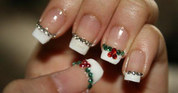 Holiday Nail Design holiday season santa spirit idea nail art manicure nailart