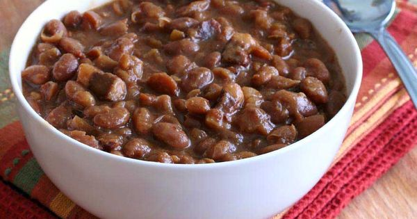 Maple Spice Boston Baked Beans Recipe Bacon Boston