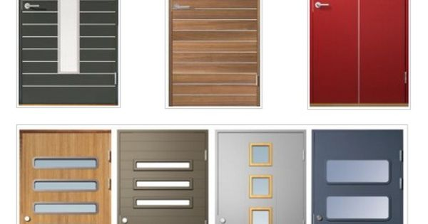 Modernos modelos de puertas de ingreso interiores for Modelos de puertas de ingreso