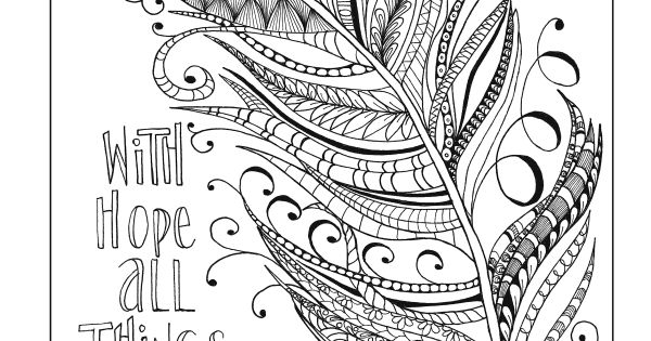 Coloring Pages For Recovery : Inkspirations for recovery a coloring companion that