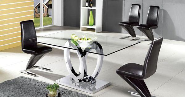 Mesas de comedor en acero ovalos decoracion beltran tu for Decoracion beltran