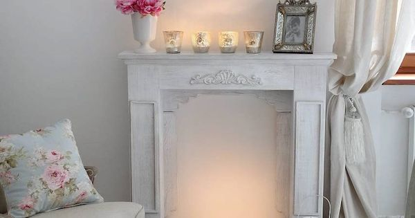 Faux/real fireplace in living room!! So cosy and perfect i love the