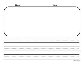 K Horizontal Writing Paper Writing Paper Writing Paper Template