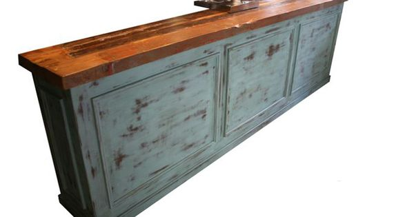 Barra vintage decoraci n vintage mobiliario hosteler a - Barras de madera para bar ...