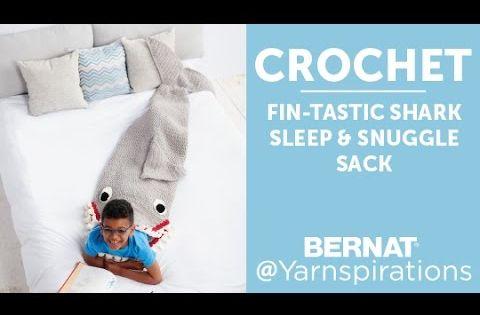 Crochet Shark Snuggle Sack Crochet Pinterest Free