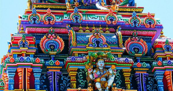 "༺✺❥Charmeleon Collections❥✺༻ ""Our Colourful World"" Sri Siva Subramaniya Temple. There are festivals"