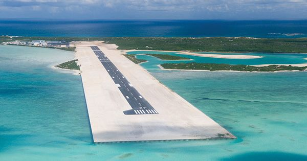 Turks and Caicos Islands landing strip, gives me chills but so beautiful