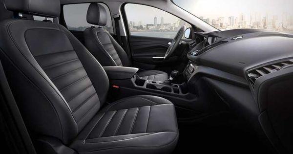 2017 Ford Escape Titanium Interior In Charcoal Black 2017 Ford Escape Ford Escape Ford