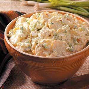 Sour Cream Potato Salad Recipe Sour Cream Potato Salad Sour Cream Potatoes Potatoe Salad Recipe