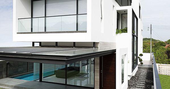 Casa unifamiliar en alnwick road de park associates 1 for Como disenar una casa de dos pisos