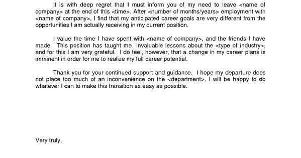 polite resignation letter bestdealformoneywriting a letter