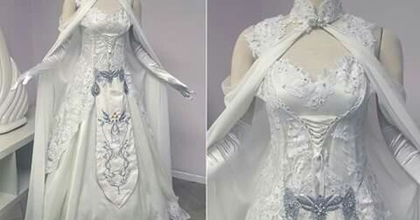 Elvin wedding dress actually from legend of zelda other for Legend of zelda wedding dress