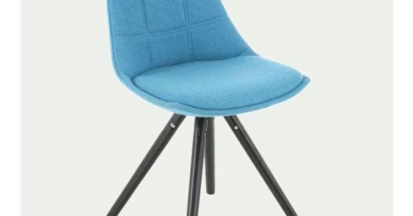 Chaise Style Scandinave En Velours Bleu Turquoise Clyde Maisons Du Monde En 2020 Chaise Style Scandinave Velours Bleu Chaise Velour