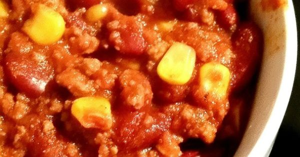 Chili con carne au cookeo recette cookeo pinterest chili con carne - Recette chili thermomix ...