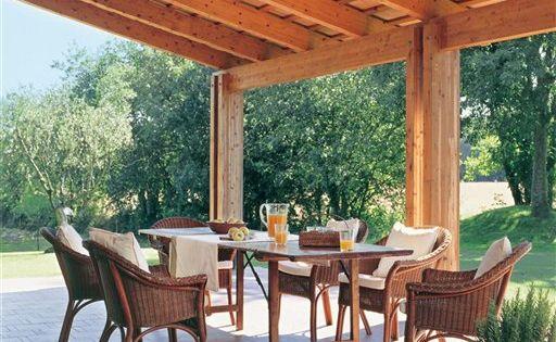 Comedor del porche el comedor de verano terrazas - Comedor de terraza ...