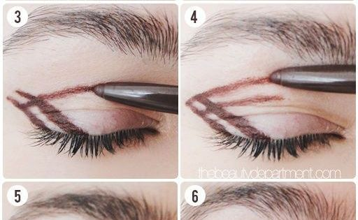 Use this drawing technique to get the easiest, most natural smoky eye