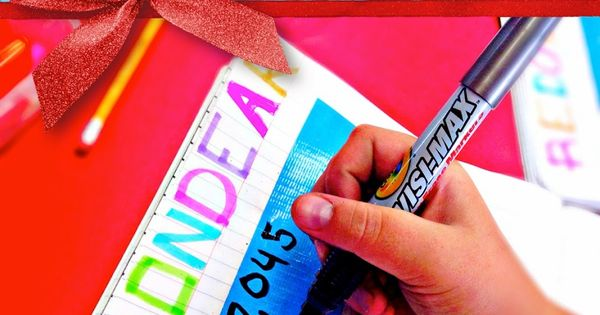 Dry-Erase Interactive Notebooks with simple strips of duct tape. Great way to