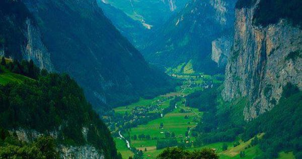 The majestic Lauterbrunnen Valley Switzerland world earth beautiful places travel nature