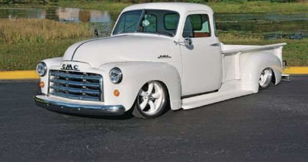 1948 Gmc Truck If Gmc Stands For Give Me A Chance Then This Sixty Three Year Old Pickup Got A New Lease On Li Classic Cars Trucks Gmc Truck Gmc Trucks