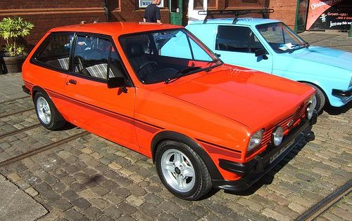 A 1982 Fiesta Supersport Shows Off Its Fender Flares Bumper Overriders And Driving Lamps Optional On Lesser Ford Classic Cars Classic Cars Trucks Ford Fiesta