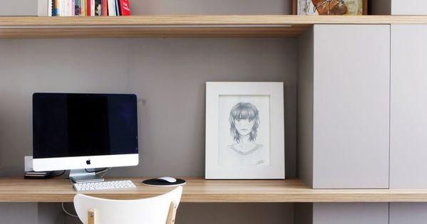 un bureau scandinave pur et couleur pastel home office and studio space pinterest. Black Bedroom Furniture Sets. Home Design Ideas