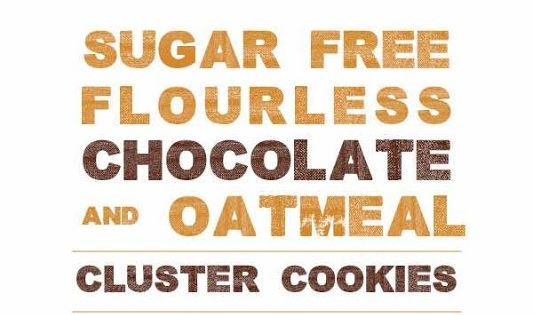 Flourless chocolate, Oatmeal and Cookies on Pinterest
