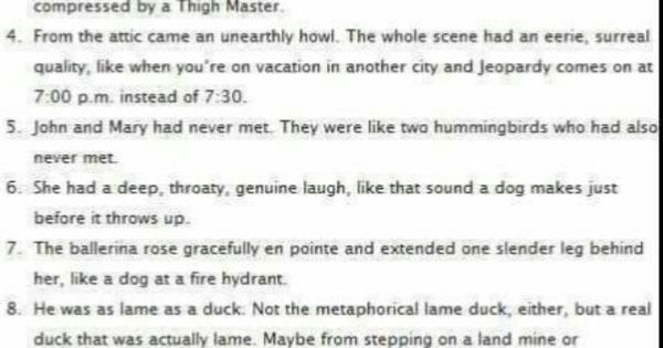 good analogies for essays