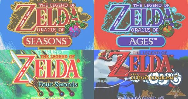 Legend of Zelda video games