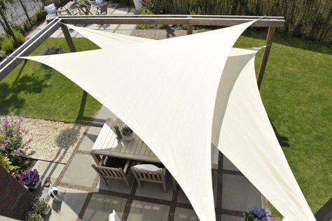 zwei sonnensegel bereinander befestigt garten und balkon pinterest sonnensegel g rten. Black Bedroom Furniture Sets. Home Design Ideas
