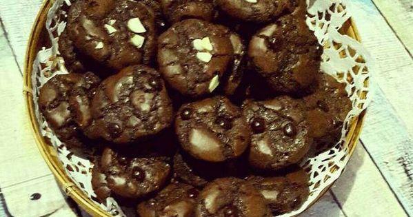 Resep Brownies Cookies Mini Oleh Ratnafe Resep Brownie Cookies Makanan Makanan Dan Minuman