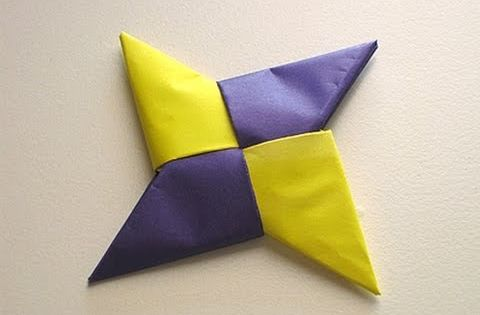 Origami Ninja Star, easy to follow instructions. My Son is so good
