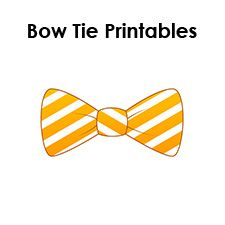 Paper Bow Tie Templates With Images Bow Tie Template Tie